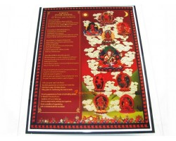 9 Deity Invocation Plaque