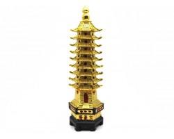 9 Level Golden Feng Shui Pagoda (XL)