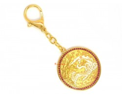 9-Tailed White Fox Amulet for Mesmerizing Love