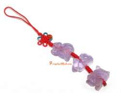 Amethyst Allies Mobile Hanging - Rat, Dragon and Monkey
