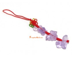 Amethyst Allies Mobile Hanging - Ox, Rooster and Snake