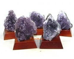 Amethyst Crystal Plates