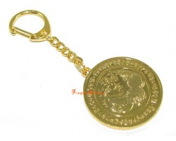 Anti Illness Medallion Keychain