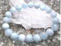 Aquamarine Crystal Bracelet (High Grade)