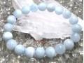 Aquamarine Crystal Bracelet (High Grade)