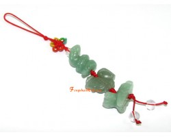 Aventurine Allies Mobile Hanging - Ox, Rooster and Snake