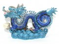 Bejeweled Blue Dragon