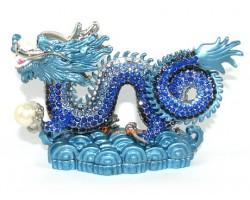 Bejeweled Blue Dragon