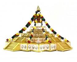 Bejeweled Boudhanath Stupa