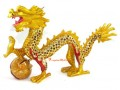 Bejeweled Good Fortune Feng Shui Dragon (L)