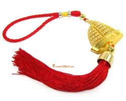 Bejeweled Feng Shui Wealth Ship Tassel