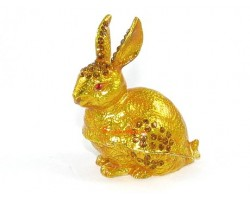 Bejeweled Wish-Fulfilling Rabbit (Golden)