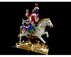 Bejeweled Kubera Riding Horse