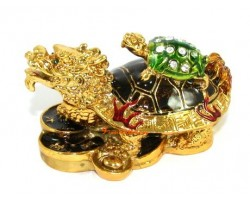 Bejeweled Wish-Fulfilling Dragon Tortoise
