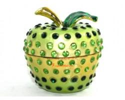Bejeweled Wish-Granting Green Apple