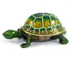 Bejeweled Wish-Fulfilling Tortoise for Longevity