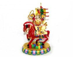 Bejewelled King Gesar Of Ling