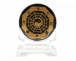 Black Obsidian Bagua with Trigrams