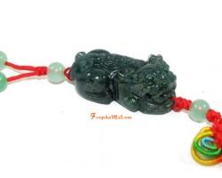Feng Shui Piyao Protection Amulet - Bloodstone