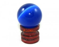 Cat Eye Crystal Ball - Blue