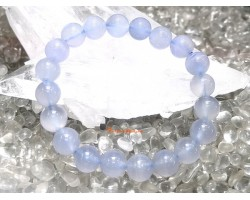 Blue Chalcedony Quartz Bracelet