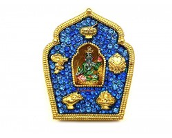 Blue Tara Gau Home Protection Amulet