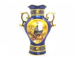 Blue Treasure Vase