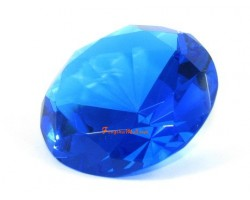 Wishfulfilling Jewel (Dark Blue) for Career Opportunities and Good Health 80mm