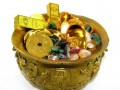 Feng Shui Brass Bowl with Ru Yi