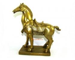 Brass Feng Shui Tribute Horse