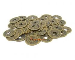 Brass Feng Shui Coins - 50 pieces
