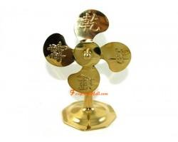 6 inch Luck Transforming Feng Shui Fan