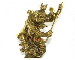 Brass Monkey God Statue (L)