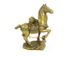 Brass Horse with Ingot (S)