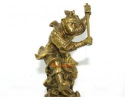 Brass Monkey God Figurine (S)