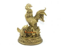 Brass Rooster Wealthy Family
