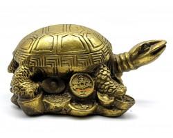 Brass Tortoise Figurine