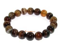 Brown Agate Crystal Bracelet