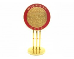 Cardinal Cross Mirror for Reflecting Prosperity and Success