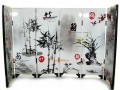 Chinese Tabletop Mini Folding Screens - Plants in Chinese Painting