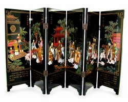 Chinese Tabletop Mini Screens - Saint Trace of Confucius