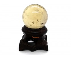 Citrine Ball with Stand - High Grade