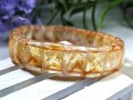 Citrine Pyramid Bangle