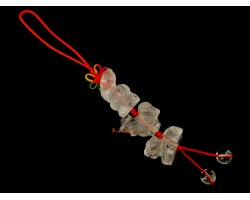Clear Quartz Allies Mobile Hanging - Ox, Rooster and Snake