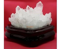 Clear Quartz Crystal Cluster (B)