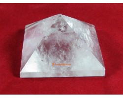 Clear Quartz Pyramid (L)