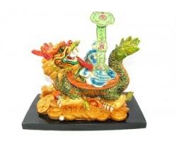 Colorful Dragon Tortoise with Ru Yi