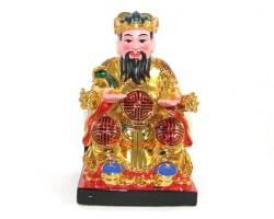 Colorful Good Fortune Tua Pek Kong Statue