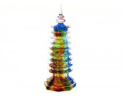 Colorful Liuli 9 Level Pagoda