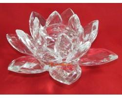 Crystal Feng Shui Lotus Flower (Clear)